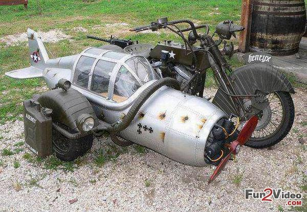 motorcycle with sidecar funny | Weird motorcycle sidecar ... |Funny Motorcycle With Sidecar