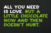 Chocolate doesnt hurt
