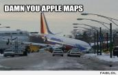 Damn apple maps