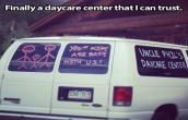 Daycare center I can trust on