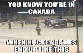 How Hockey games end up in Canada