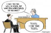 I can take tests
