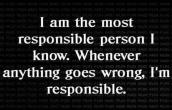 Most responsible person