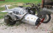 Motorcycle With Sidecar Funny
