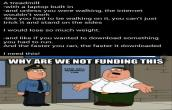 Why you are not funding this