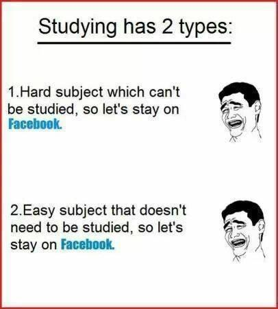 Studying Has 2 Types..
