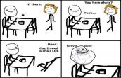 I am Forever alone :\