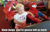 Spider man and KID