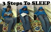 Steps to Sleep