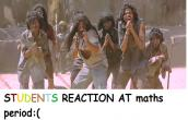 the students reaction