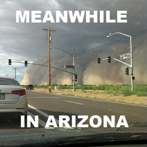 Arizona amazement