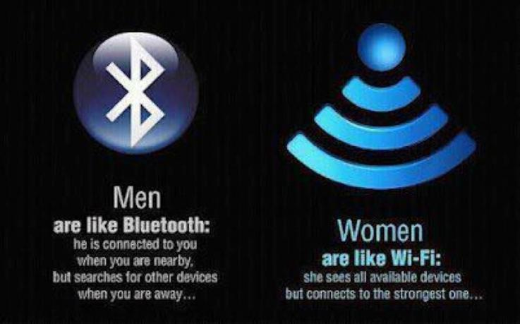 Bluetooth and Wi-Fi