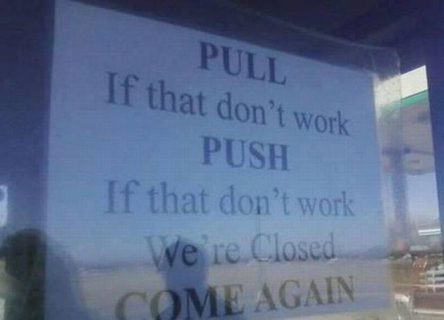 Pull and Push