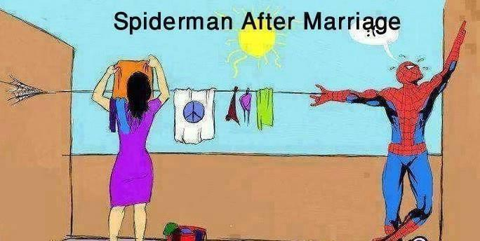 Spider man After marriage