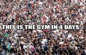 Crowd in gym