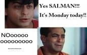 its monday again :(