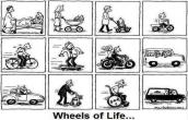 Wheels of life...