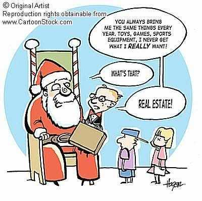 Funny demand from Santa