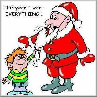 This Year I want every thing