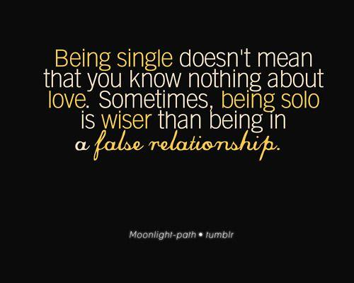 False Relationship